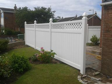 Plastic Fences High Quality Maintenance Free Upvc